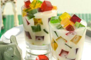 gelatina-colorida-no-copinho