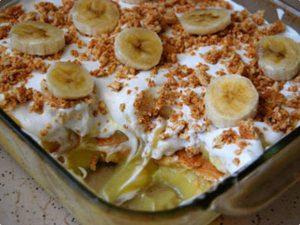 Pavê De Banana Caramelizada