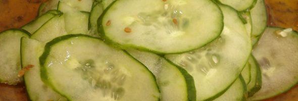 Salada Sueca De Pepino