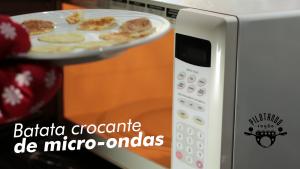 Batata Crocante De Microondas